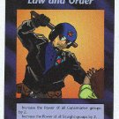 Illuminati Law And Order New World Order Game Trading Card