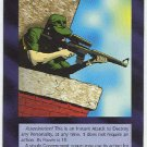 Illuminati Sniper New World Order Game Trading Card