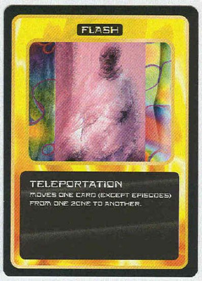 Doctor Who CCG Teleportation Uncommon Game Card