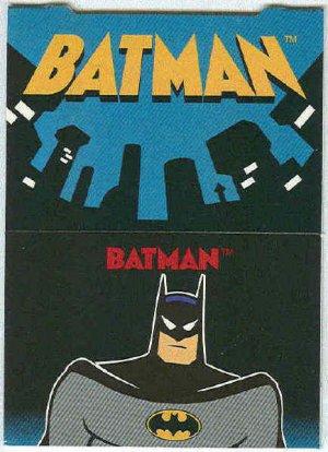 Batman Robin Adventures #P1 Pop-Up Chase Card Batman