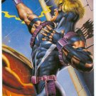 DC vs Marvel Impact Embossed #9 Chase Card Hawkeye