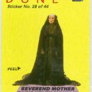 Dune 1984 Sticker #28 Reverend Mother Gaius Helen Mohiam