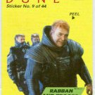 Dune 1984 Sticker #9 Chase Trading Card Rabban And Troops