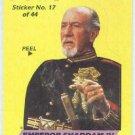 Dune 1984 Sticker #17 Chase Card Emperor Shaddam IV