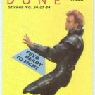 Dune 1984 Sticker #34 Chase Card Feyd Ready To Fight
