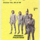 Dune 1984 Sticker #44 Chase Trading Card Fremen Fighters