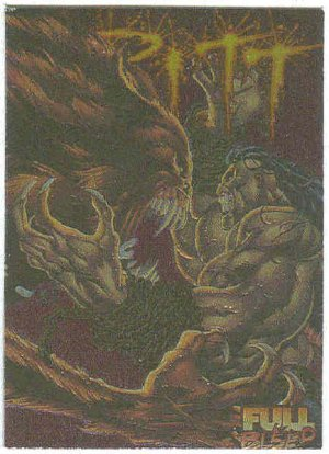 Pitt 1995 Intrepid Ashcan Cover #C14 Foil Embossed Card