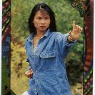 Power Rangers Series 2 #85 Rainbow Power Foil Card Trini