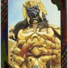 Power Rangers Series 2 #115 Rainbow Foil Card Giant Goldar