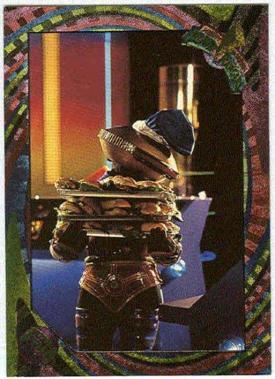 Power Rangers Series 2 #129 Rainbow Power Foil Lunchtime