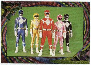 Power Rangers Series 2 #135 Rainbow Power Foil Unbeatable