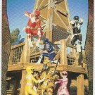 Power Rangers Series 2 #104 Power Foil Card Rescue Time