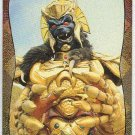Power Rangers Series 2 #115 Power Foil Card Giant Goldar