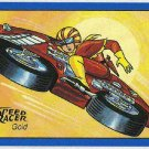 Speed Racer #29 Gold Foil Parallel Card Motorcycle Apaches