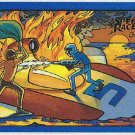 Speed Racer #34 Gold Foil Card Race Around The World