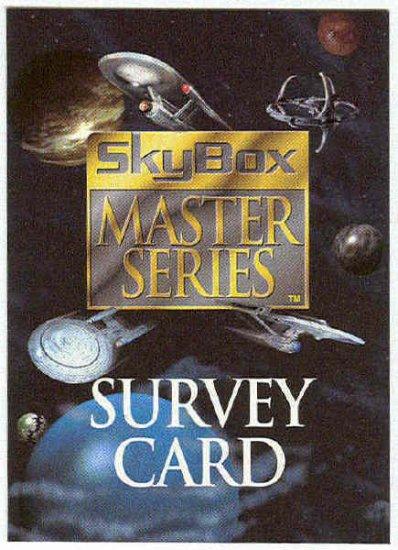 Star Trek 1994 Master Series 2 Survey Trading Card