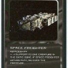 Doctor Who CCG Space Freighter Uncommon Game Card