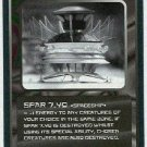 Doctor Who CCG Spar 7.40 Uncommon Black Border Card