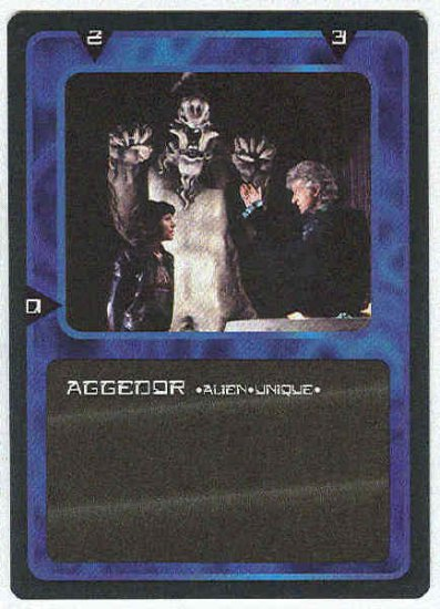 Doctor Who CCG Aggedor Uncommon Game Trading Card