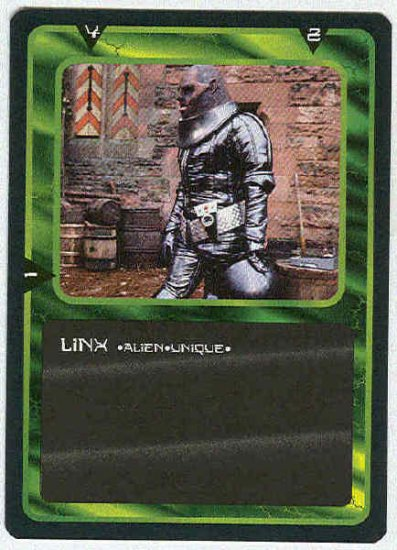 Doctor Who CCG Linx Uncommon Black Border Game Card