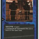 Doctor Who CCG Seers Uncommon Black Border Game Card
