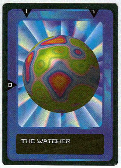 Doctor Who CCG The Watcher Future Black Border Card (2)