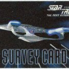 Star Trek The Next Generation Season 5 Survey Card