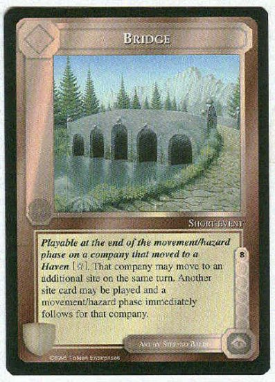 Middle Earth Bridge Wizards Limited Uncommon Game Card