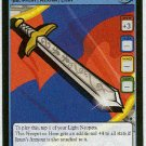 Neopets CCG Base Set #121 Jeran's Sword Uncommon Card