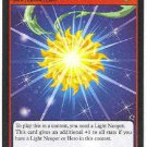 Neopets CCG Base Set #124 Light Faerie Token Uncommon