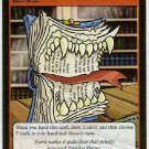 Neopets CCG Base Set #100 Biting Book Uncommon Card