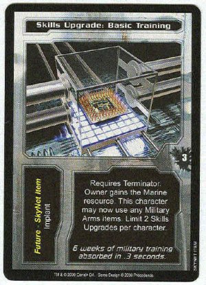 Terminator CCG Skills Upgrade Basic Training Uncommon Card