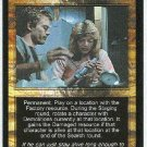 Terminator CCG Industrial Sabotage Uncommon Game Card