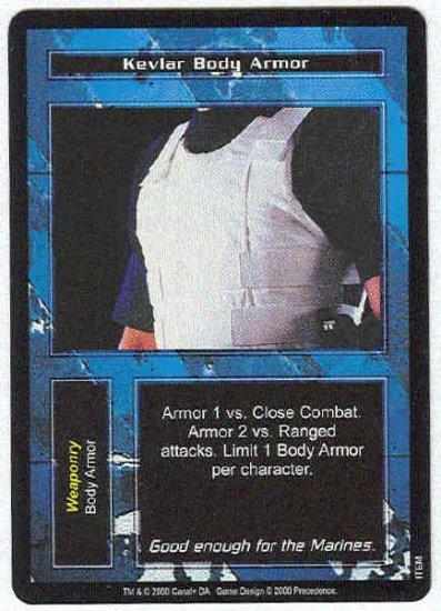 Terminator CCG Kevlar Body Armor Uncommon Game Card