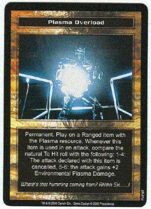 Terminator CCG Plasma Overload Uncommon Game Card