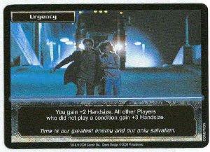 Terminator CCG Urgency Precedence Uncommon Game Card