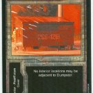 Terminator CCG Dumpster Precedence Game Card