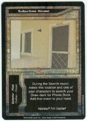Terminator CCG Suburban House Precedence Game Card