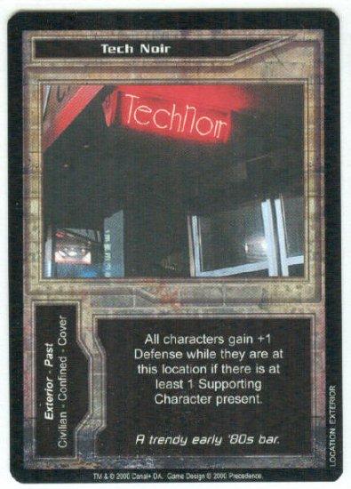 Terminator CCG Tech Noir Precedence Game Card