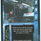 Terminator CCG Police Officer Precedence Game Card