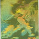 Superman Holo Series #2 Gold Parallel Card Rockets Fire