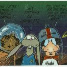 Bloom County Outland #55 Sticker Parallel Trading Card