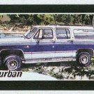 Doral 2004 Card America On The Road #22 Suburban