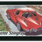 Doral 2004 Card America On The Road #12 Corvette Stingray