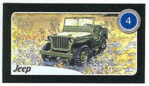 Doral 2004 Card America On The Road #4 Jeep