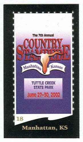 Doral 2003 Card Great American Festivals #18 Manhattan, KS