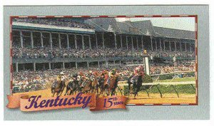 Doral 2000 Card Celebrate America 50 States #15 Kentucky