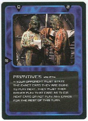 Doctor Who CCG Primitives Black Border Game Trading Card