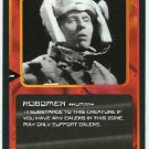 Doctor Who CCG Robomen Black Border Game Trading Card