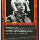 Doctor Who CCG Robomen Black Border Game Trading Card